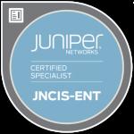 JNCIS-ENT Badge
