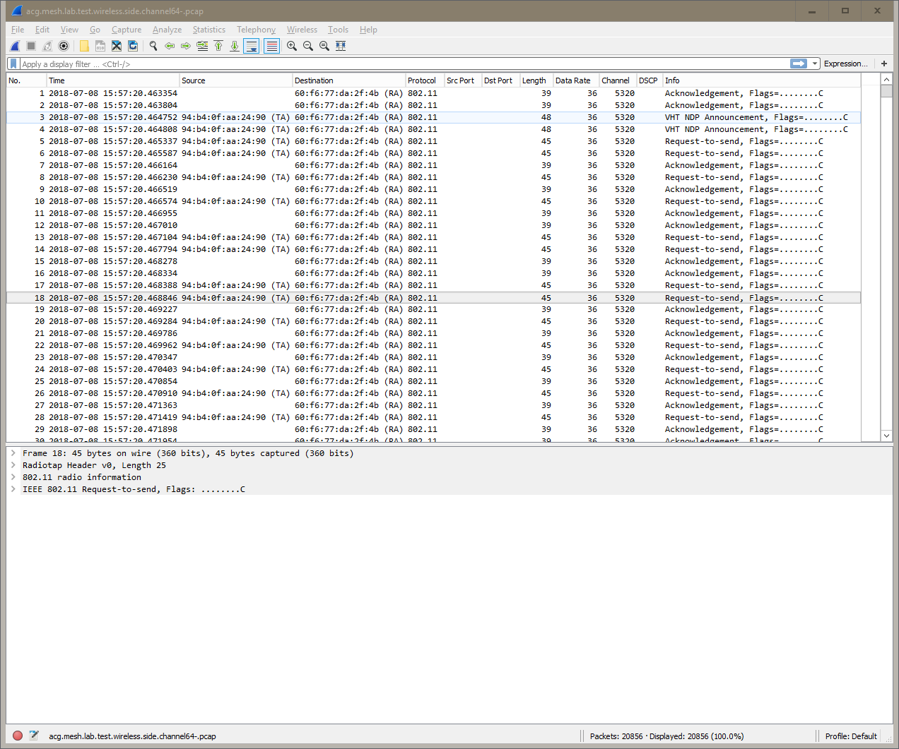 Improving Wireshark for WiFi Packet Analysis - Airxperts
